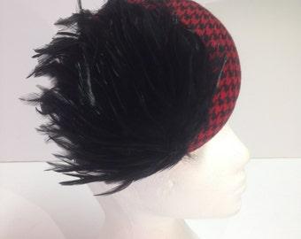 Pill box/Buttom hat, Headpiece