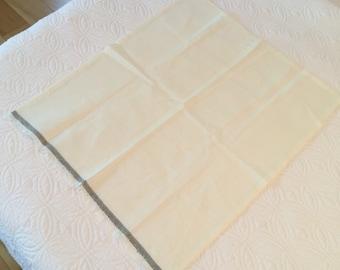 Linen Handkerchief, large