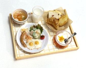 Free Shipping! Miniature Big Breakfast Plate