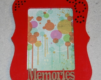 "4x6 Picture Frame ""Memories"""