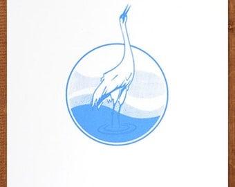 Crane Print