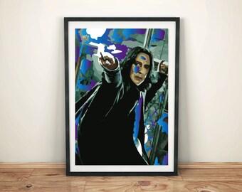 Severus Snape art (for Harry Potter fans)