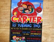 Little Einsteins Birthday Party Invitation - Little Einsteins Digital Printable DIY Invitation - Little Einsteins Birthday Invitation