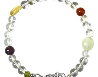Sattva Mantram Chakra Zodiac Bracelet For Virgo