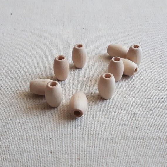 Basket Weaving Supplies Winnipeg : Pcs mm natural oval beads organic wooden