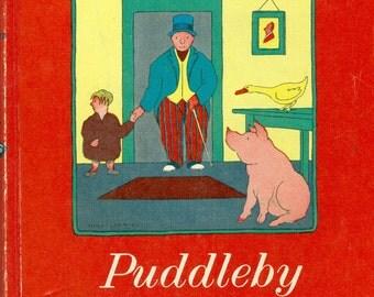 Vintage 1952 Book: Doctor Dolittle's Puddleby Adventures, Hugh Lofting