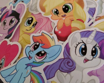 My Little Pony Stickers! Set of 6