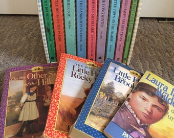 Complete Book set 1 - 9 Little House On The Prairie, Laura Ingalls Wilder, Boxed Set, Paperbacks, Four Extra Books, 13 Books