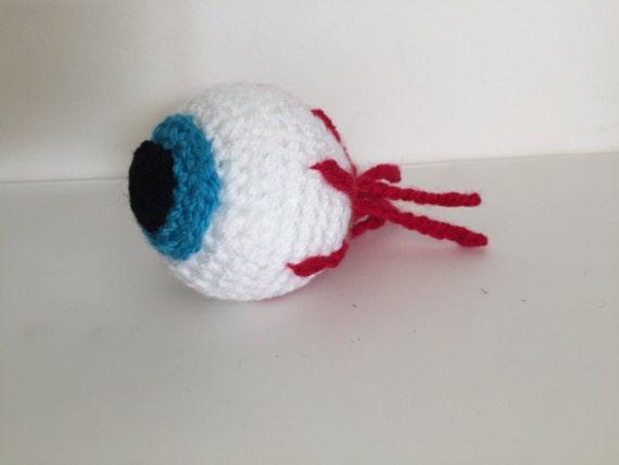 Halloween Spooky Eyeball - Crochet Pattern
