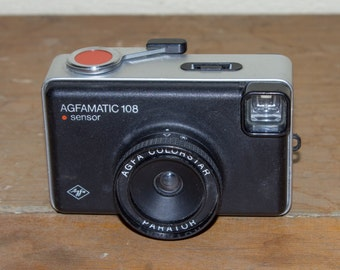 Agfamatic 108 sensor - Vintage 126 film camera