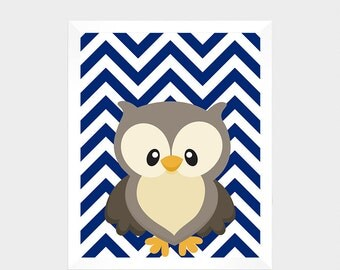 Woodland Animal, Owl, Digital Print, Printable Art, Nursery Decor, Baby Print, Instant Download, Home Decor, Nursery Wall Art, Baby Print