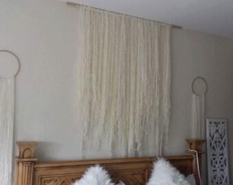Large wool wall hanging