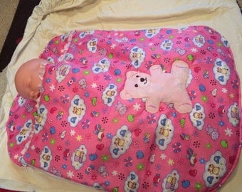 Pink Baby sleep bag