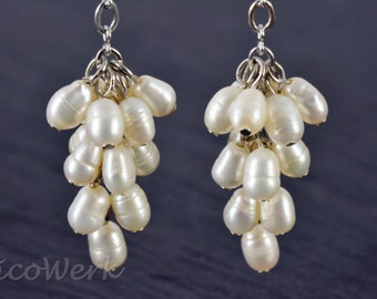 Silver earrings women's earrings jewelry earrings 925 gift SOR138