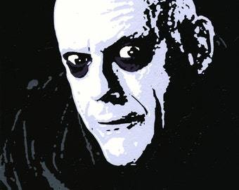 8 1/4x10 3/4 Print of Uncle Fester