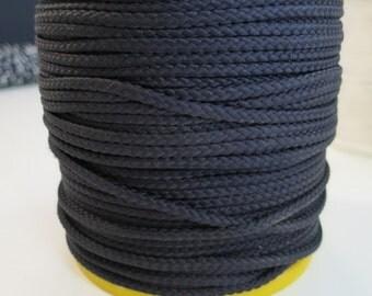 4mm x 100mts black nylon cord - Heavy duty