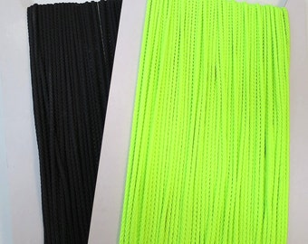 Many colours! 25mt x 3mm Polyester cord