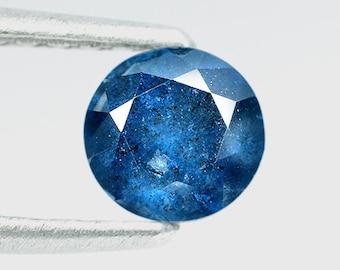 0.90 Ctw Unbelievable Blue Color Stunning Look Natural  Diamond