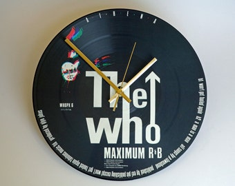 "The Who - Athena. 12"" Picture Disc Clock"