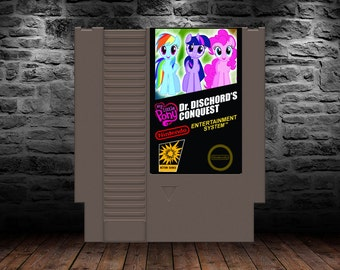 My Little Pony Dr. Discord's Conquest - Original Pony Adventure Action - NES