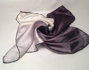 Vintage Ashear silk pocket square