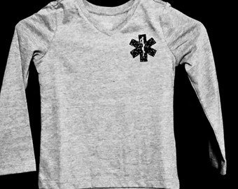 EMS Star of Life Long Sleeved T-Shirt