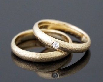 Wedding rings for TWO 8 k or 14 k gold