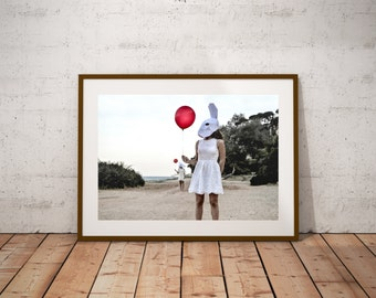 Papermask photography conceptual french fine art