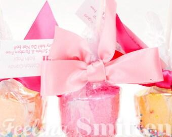 3 Pack of Bath Pops by Feeling Smitten Bath Bombs