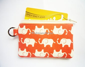 Not White Elephant women wallet, portefeuille, id1370163, gift for her, cardholder, jogging zipper pouch, id work purse, travel organizer