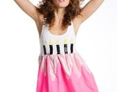 Limited Edition New York Couture NEON Pink Birthday Cake Dress