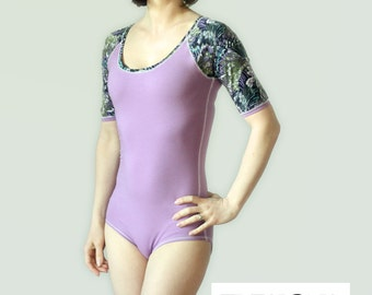 Raglan Sleeve Leotard Sewing Pattern (PDF)
