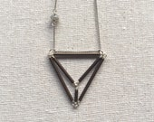 Diamondhead Necklace in silver