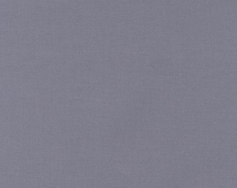 Kona Medium Gray Solid Robert Kaufman fabrics - one yard or by the yard, solid yardage, modern quilting, modern quilts, kona solids