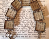 The Catcher in the Rye Recycled Book Bracelet