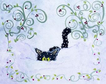 Snowbound - Matted Print