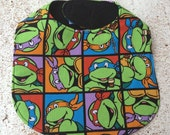 Ninja Turtle Infant Baby Bib