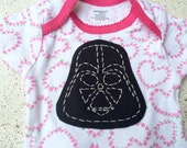Baby Girl Star Wars Inspired Onesie Bodysuit 3-6 months