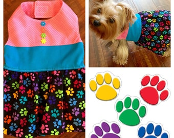 Paw Custom Dog Dress XXS - Medium
