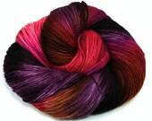 Sugared Beets- Handpainted Yarn- Dye to Order, Sock, Fingering, Sport, Bulky