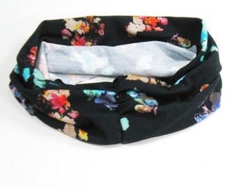 Athletic Headband - Bright abstract floral