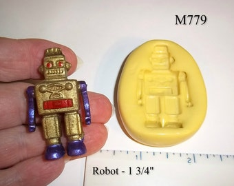 Robot Flexible Push Mold For Resin Polymer Candy Chocolate - Food Safe Silicone M779