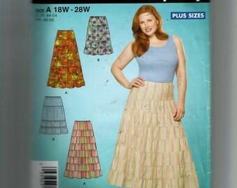 Simplciity Women's Skirt In Two Lengths Pattern 4245