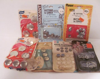 Mixed Bundle of Button Covers
