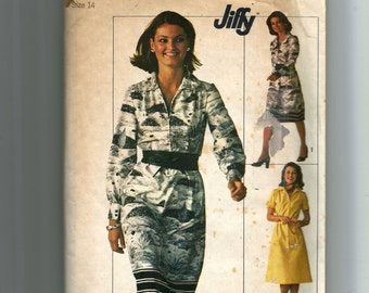 Simplicity Misses' Jiffy Dress Pattern 7571