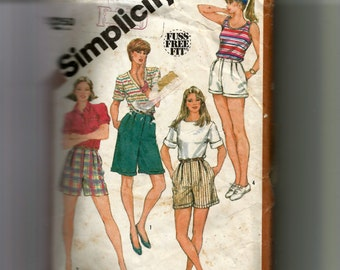 Simplicity Misses' Set of Shorts In Three Lengths Pattern 5897