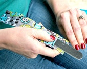 Nail File Sleeve, Emery Board Holder, Includes Fingernail File