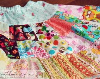 Toddler Girls Skirt, 4T Girls Skirt, Patchwork Skirt, Child Patchwork Skirt, Twirl Skirt, Girls Patchwork Skirt, Skirt for Toddler Girl