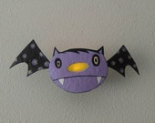 halloween...wall sconce...bat boy