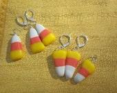 Earrings- Candy Corn